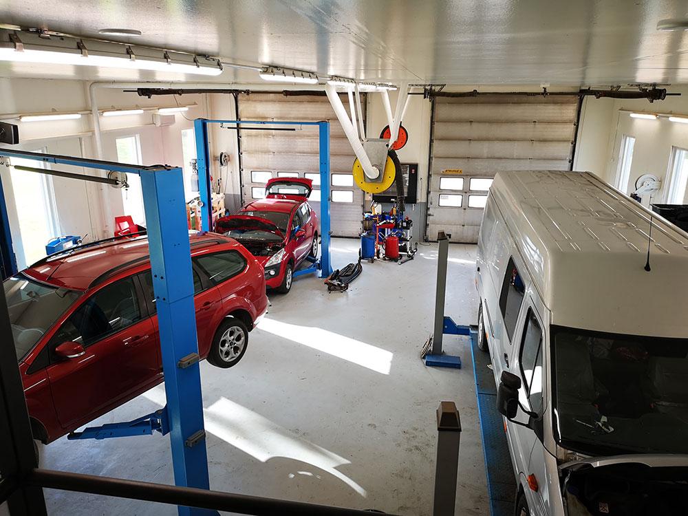 monimerkkikorjaamo ja sijaisautopalvelu